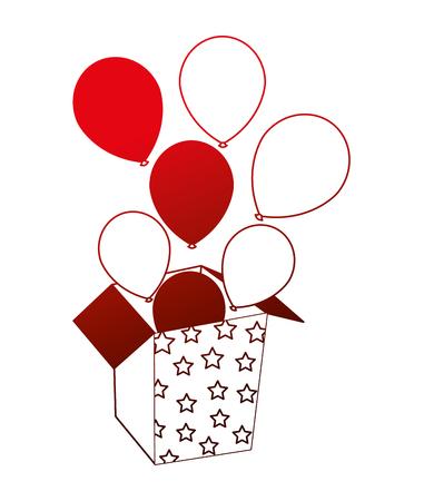 Ilustración de vector de vector de vector de banner de discurso de globos de discurso romántica Foto de archivo - 103045783