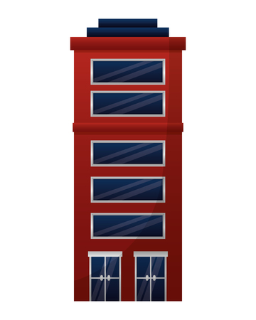 building exterior isolated icon vector illustration design Illustration