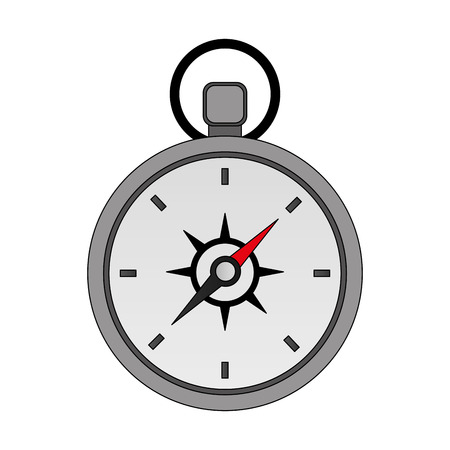 travel compass equipment instrument image vector illustration Reklamní fotografie - 103046541