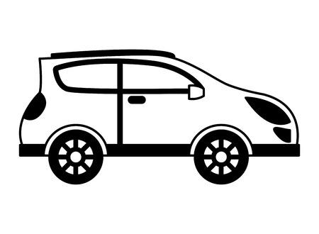 car automobile transport image design vector illustration Illustration