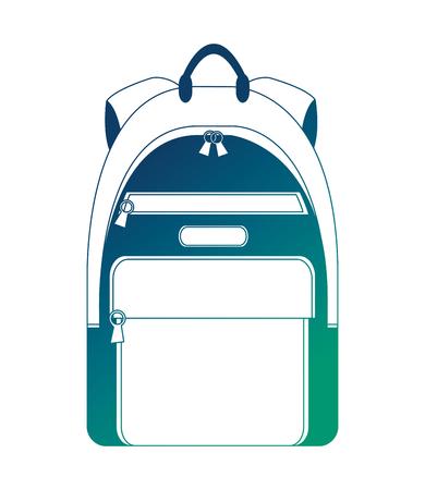 handbag travel isolated icon vector illustration design