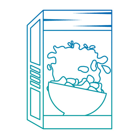 cereal box packing icon vector illustration design Stok Fotoğraf - 103268997