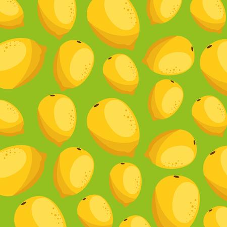 guava fresh pattern background vector illustration design