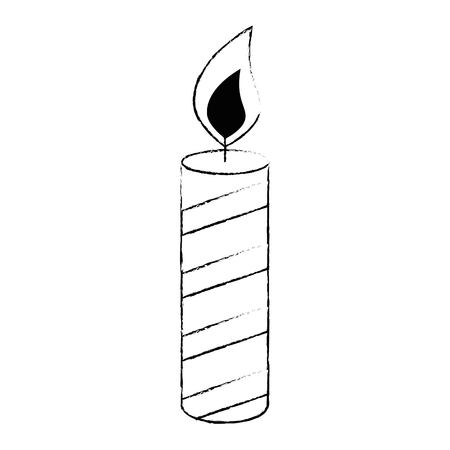 candle year isolated icon vector illustration design Zdjęcie Seryjne - 103394097