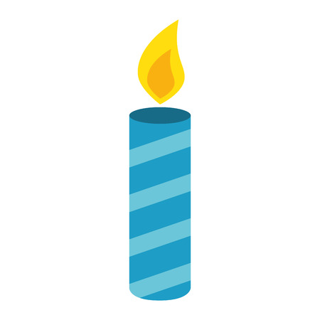 candle year isolated icon vector illustration design 矢量图像