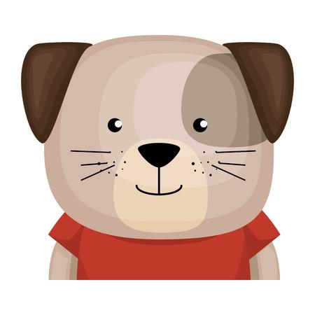 cute dog character icon vector illustration design Foto de archivo - 103394559