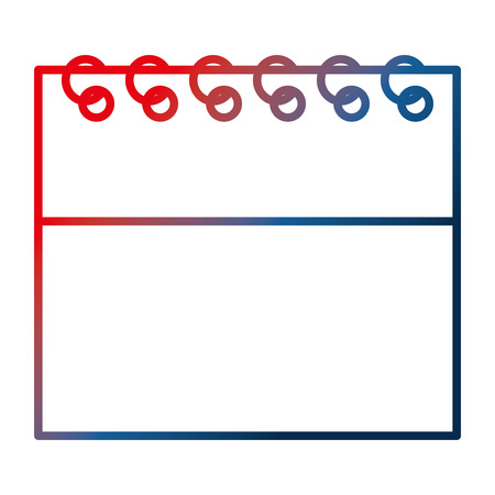 calendar reminder plan date image vector illustration gradient design