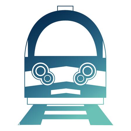 electric fast train icon vector illustration design Ilustração