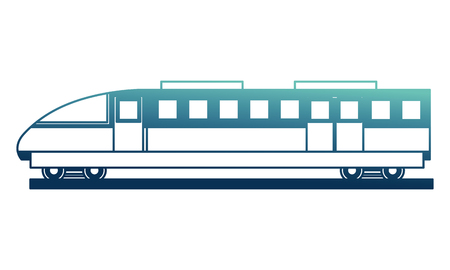 electric fast train icon vector illustration design  イラスト・ベクター素材