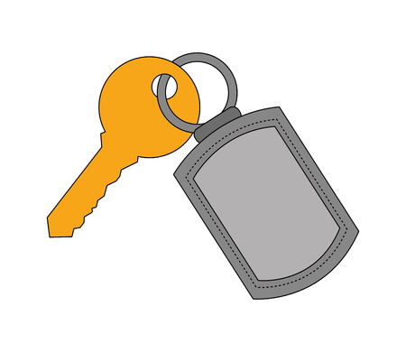 key door isolated icon vector illustration design Stock fotó - 103600981