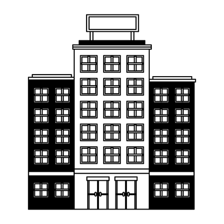 building hotel isolated icon vector illustration design 스톡 콘텐츠 - 103601409