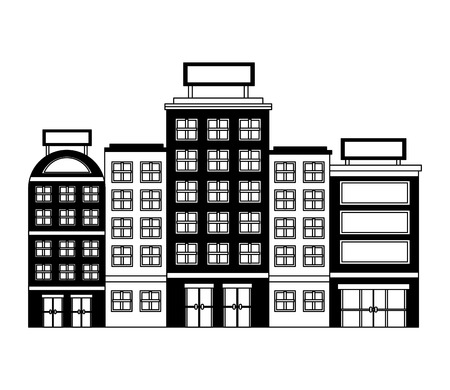 buildings hotel isolated icon vector illustration design 写真素材 - 103601455
