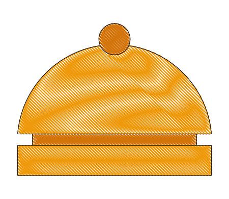 hotel bell reception service alert vector illustration drawing 스톡 콘텐츠 - 103706311