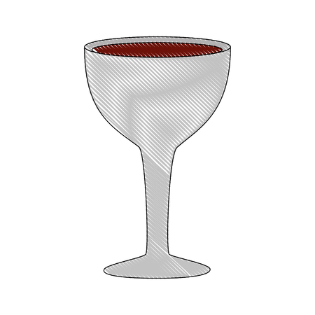 wine cup isolated icon vector illustration design  イラスト・ベクター素材