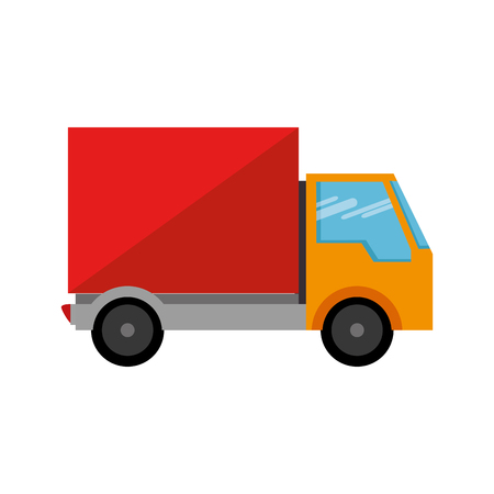 delivery truck isolated icon vector illustration design Stock Vector - 103797970