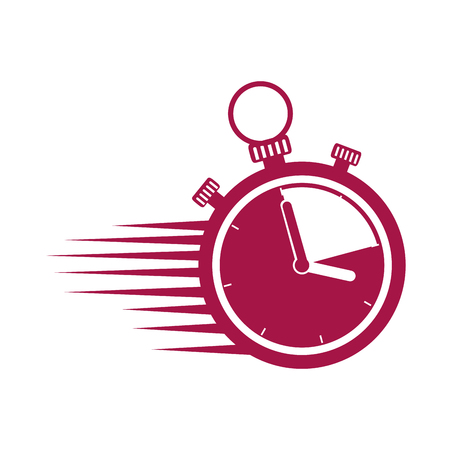 timer chronometer with speed lines vector illustration design Banque d'images - 103797985