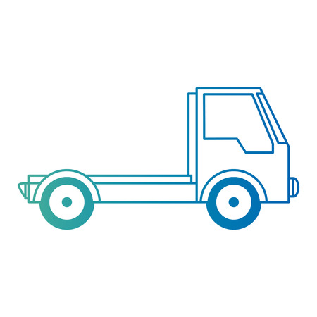 delivery truck isolated icon vector illustration design Stock Vector - 103715012