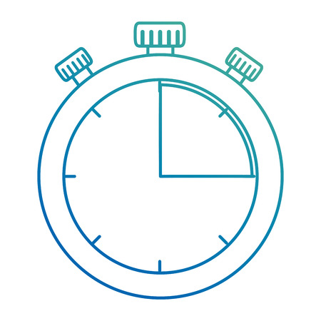 timer chronometer isolated icon vector illustration design Banque d'images - 103715014