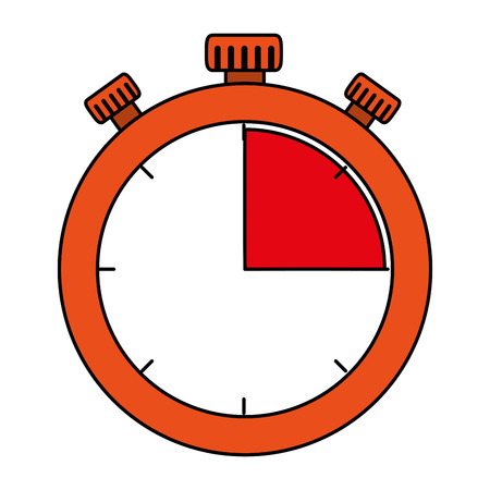 timer chronometer isolated icon vector illustration design Banque d'images - 103715054