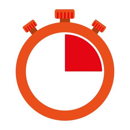 timer chronometer isolated icon vector illustration design Archivio Fotografico - 104181905