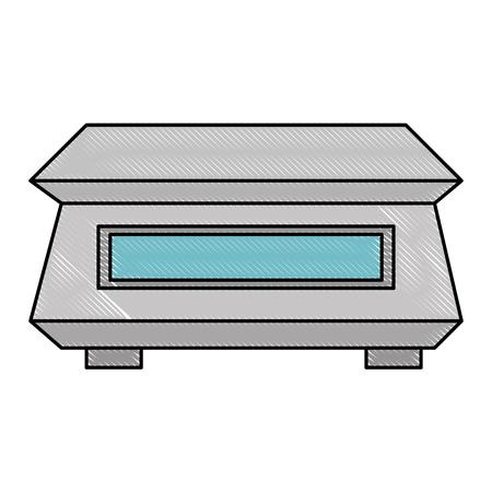 measure weight icon vector illustration design Ilustração