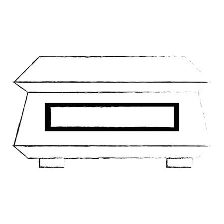 gramer measure weight icon vector illustration design