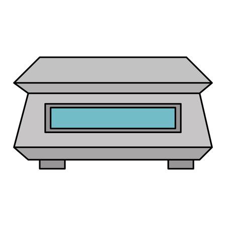 gramer maatregel gewicht pictogram vector illustratie ontwerp