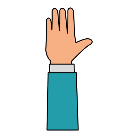 hands human isolated icon vector illustration design Banque d'images - 103719223