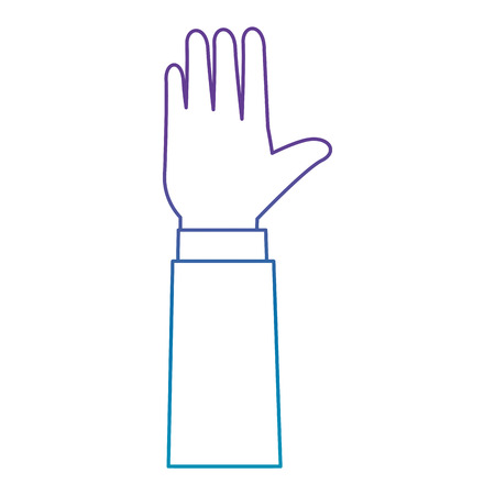 hands human isolated icon vector illustration design Banque d'images - 103719335