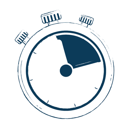 timer chronometer isolated icon vector illustration design