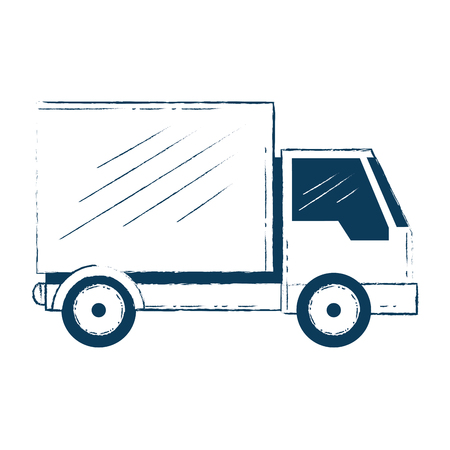 delivery truck isolated icon vector illustration design Stock Vector - 103719985