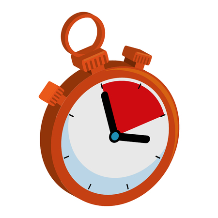 timer chronometer isolated icon vector illustration design Banque d'images - 103720020