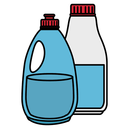 laundry and housekeeping products vector illustration design Stock Vector - 104046236
