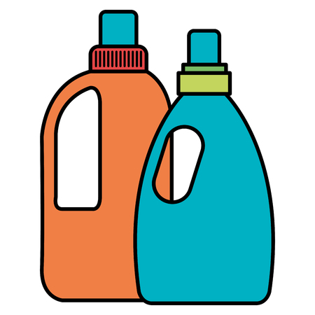 laundry and housekeeping products vector illustration design Ilustrace