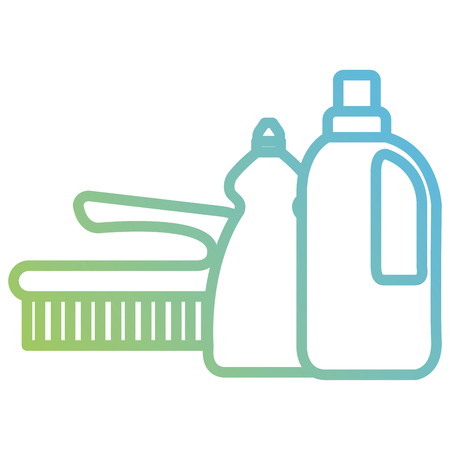 laundry and housekeeping products vector illustration design Иллюстрация