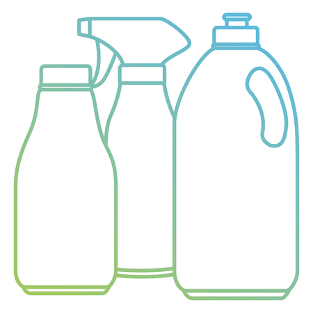 laundry and housekeeping products vector illustration design 스톡 콘텐츠 - 104109836