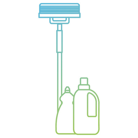 laundry and housekeeping products vector illustration design Ilustração