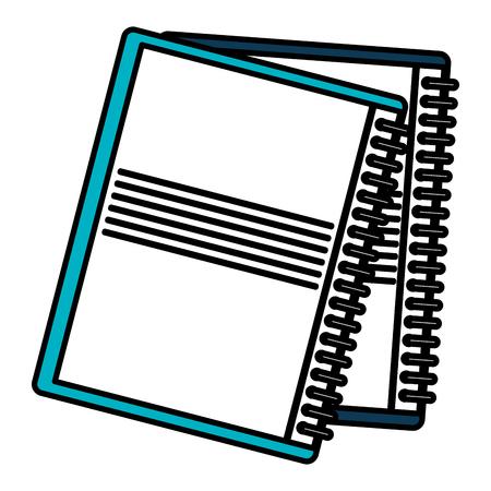 notebook school education icon vector illustration design 向量圖像