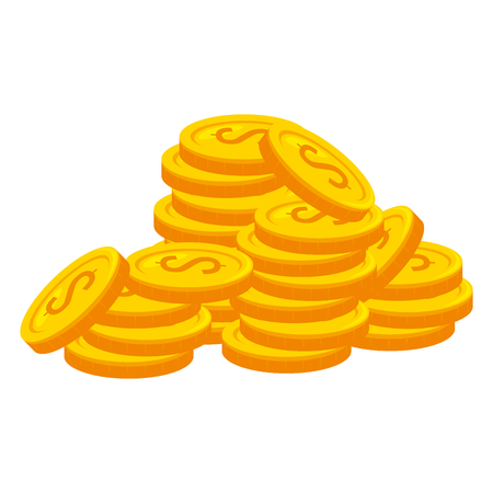 money dollars finance icons vector illustration design Banque d'images - 104151134