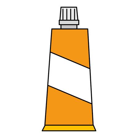 cream tube product icon vector illustration design Stock Illustratie