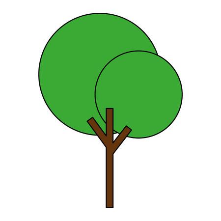 tree plant nature icon vector illustration design 일러스트