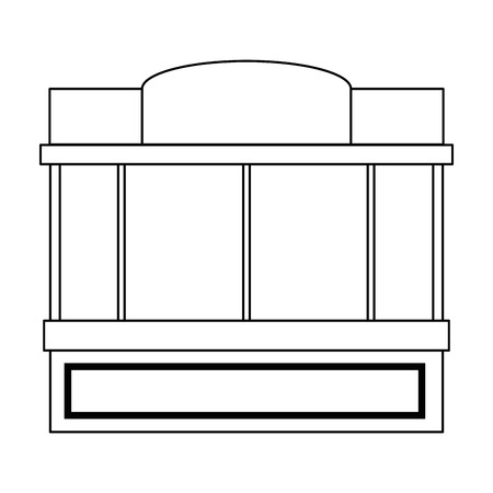 window of store front vector illustration design Illustration