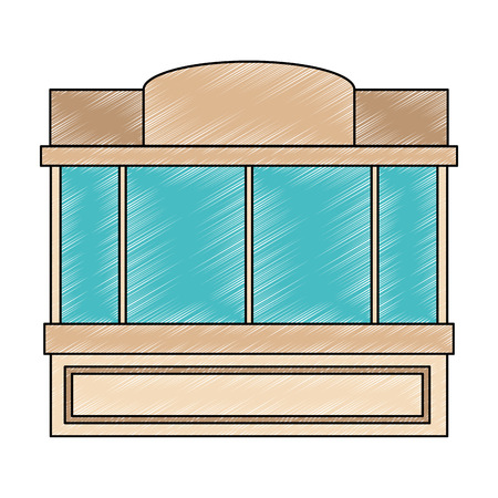window of store front vector illustration design 向量圖像