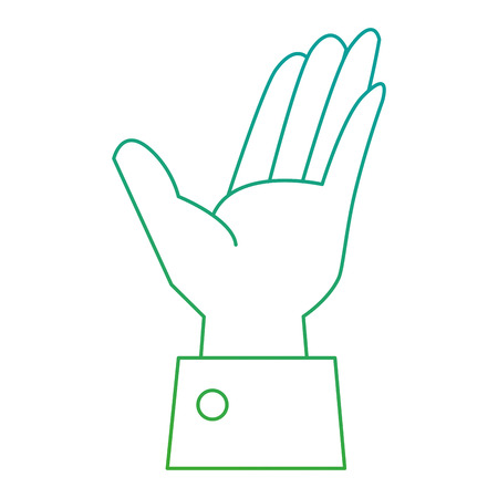 hand human receiving icon vector illustration design 向量圖像