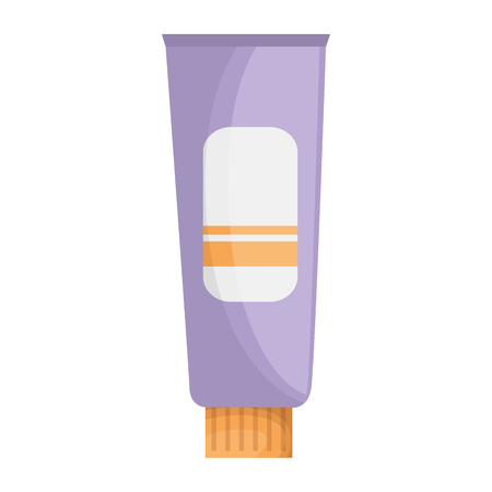 cream tube product icon vector illustration design 写真素材 - 115013709
