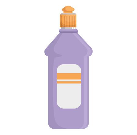 bottle house product icon vector illustration design