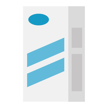 fllour box carton packing vector illustration design