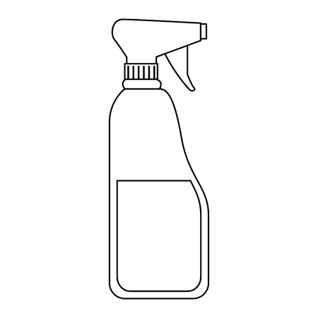 bottle spray product icon vector illustration design