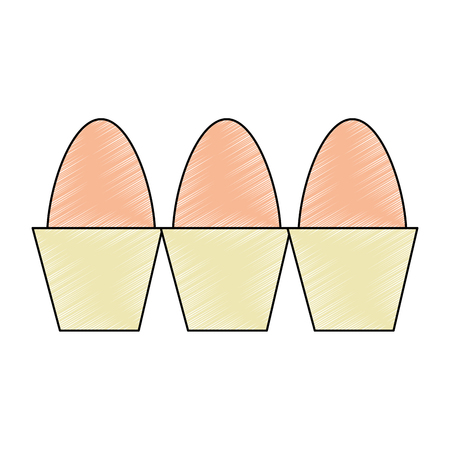 carton eggs container icon vector illustration design Фото со стока - 104481571