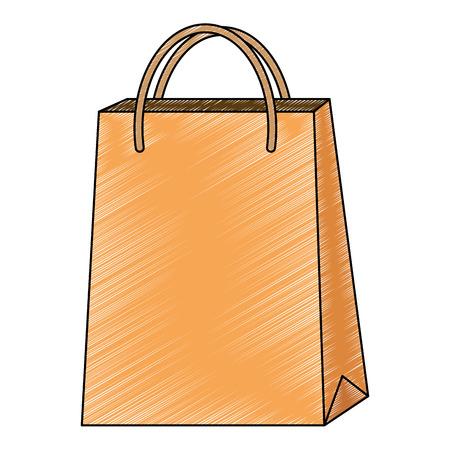 market paper bag icon vector illustration design Foto de archivo - 115013809